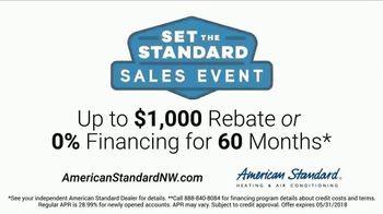 American Standard Set the Standard Sales Event TV Spot, 'Higher Standard' - Thumbnail 9