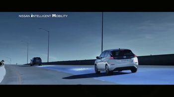 2018 Nissan LEAF TV Spot, 'Intelligent Mobility' [T1] - Thumbnail 8
