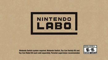 Nintendo Labo TV Spot, 'Disney Channel: Make the Impossible Possible' - Thumbnail 9