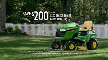 John Deere X350 Select Series TV Spot, 'More Than A Yard' - Thumbnail 10
