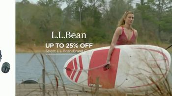 L.L. Bean TV Spot, '25 Percent Off: Paddle Boarding' - Thumbnail 4