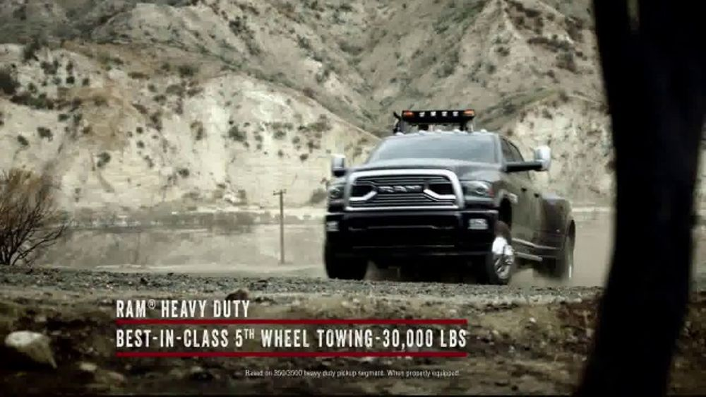 Ram Spring Sales Event TV Commercial, 'Long Live Growth: Restoration' [T1]