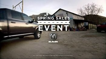 Ram Spring Sales Event TV Spot, 'Long Live Growth: Restoration' [T1] - Thumbnail 1