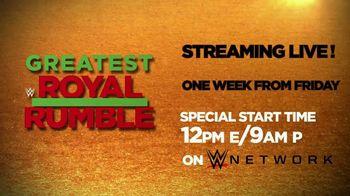 WWE Network TV Spot, '2018 Greatest Royal Rumble' - Thumbnail 10