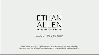 Ethan Allen TV Spot, 'Every Detail Matters' Song by Anna Dellaria - Thumbnail 10