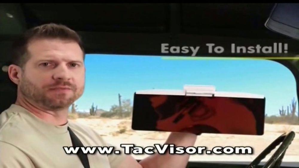 Bell + Howell Tac Visor TV Commercial, 'Light-Filtering Technology'