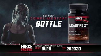 Force Factor Leanfire XT TV Spot, 'Crash and Burn: Everywhere'