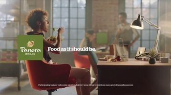 Panera Bread Delivery TV Spot, 'Eaten at Your Desk' - Thumbnail 9
