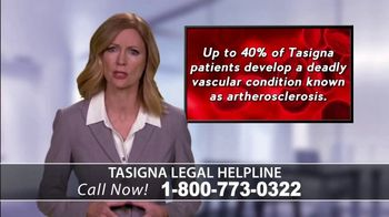 Onder Law Firm TV Spot, 'Tasigna Legal Helpline'
