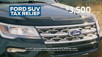 Ford SUV Tax Relief TV Spot, 'Everything You Want' [T2] - Thumbnail 4