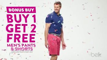 Belk Days TV Spot, 'Pants and Shorts' - 98 commercial airings