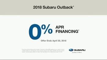 2018 Subaru Outback TV Spot, 'Never Too Early' Song by Julie Doiron - Thumbnail 9