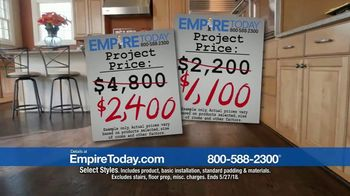 Empire Today 50-50-50 Sale TV Spot, 'It's Empire Today's BIGGEST Sale' - Thumbnail 2