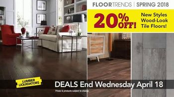 Lumber Liquidators TV Spot, 'Customer Favorites: Hardwood and Tile' - Thumbnail 8