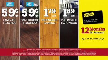 Lumber Liquidators TV Spot, 'Customer Favorites: Hardwood and Tile' - Thumbnail 9