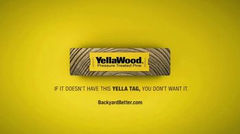 YellaWood TV Spot, 'Use Your Indoor Voice' - Thumbnail 10