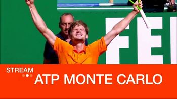 Tennis Channel Plus TV Spot, 'ATP Monte Carlo and Fed Cup Semi Finals' - 70 commercial airings