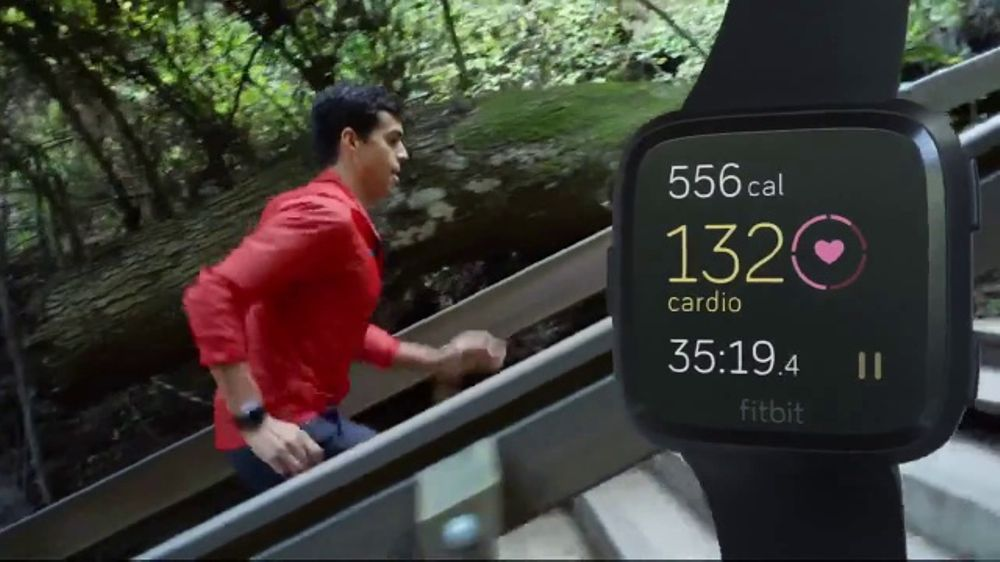 Fitbit Versa TV Commercial, 'The Zone' Song by Oh the Larceny