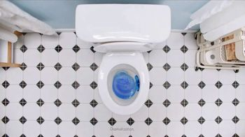 Lysol Power & Blue 6 TV Spot, 'Clean With Every Flush Protection' - Thumbnail 9