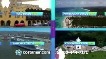 Costamar Travel TV Spot, 'Perú, Colombia, Ecuador y Bahamas' [Spanish]
