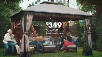 Big Lots TV Spot, 'Pinehurst Gazebos and Seating Sets'