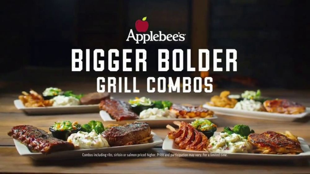 All The Pasta You Can Eat With Olive Garden S Never Ending: Applebee's Bigger Bolder Grill Combos TV Commercial, 'I