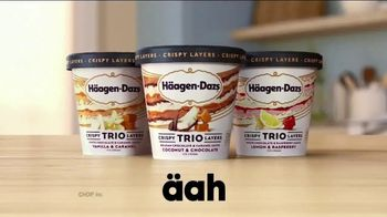 Häagen-Dazs TRIO Crispy Layers TV Spot, 'Never Before' - Thumbnail 7