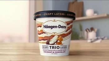 Häagen-Dazs TRIO Crispy Layers TV Spot, 'Never Before' - Thumbnail 1