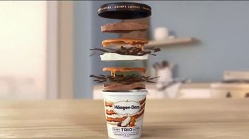 Haagen-Dazs TRIO Crispy Layers TV Spot, \'Never Before\'