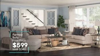 Ashley HomeStore Extended Anniversary Sale TV Spot, 'Sofas and Patio Set' - Thumbnail 7