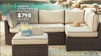 Ashley HomeStore Extended Anniversary Sale TV Spot, 'Sofas and Patio Set' - Thumbnail 9