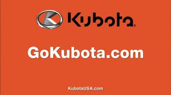 Kubota Bring on Spring Event TV Spot, 'Z400 Series' - Thumbnail 8