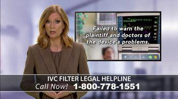 IVC Filter Helpline TV Spot, 'Consumer Complaints' - Thumbnail 5