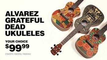 Guitar Center Guitar-A-Thon TV Spot, 'Grateful Dead Ukes' Ft. Jared Scharff - Thumbnail 6