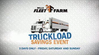 Mills Fleet Farm Truckload Savings Event TV Spot, 'Haul It Away'