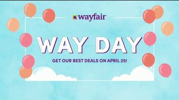 Wayfair Way Day TV Spot, 'The Grand Arrival' - Thumbnail 4