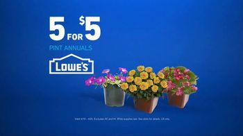 Lowe's TV Spot, 'Gardening Gene: Pint Annuals' - Thumbnail 10