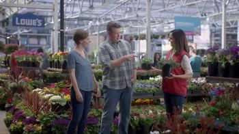 Lowe's TV Spot, 'Gardening Gene: Pint Annuals' - Thumbnail 6
