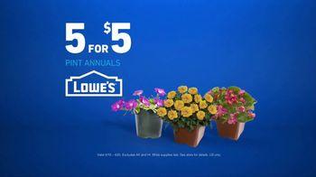 Lowe's TV Spot, 'Gardening Gene: Pint Annuals' - Thumbnail 9