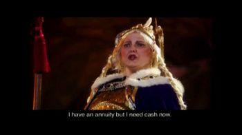 J.G. Wentworth VISA Reward Card TV Spot, 'Viking Opera'