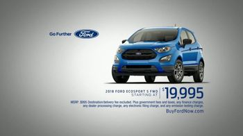 2018 Ford EcoSport TV Spot, 'Discover the First-Ever Ford EcoSport' - Thumbnail 9