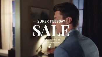 JoS. A. Bank Super Tuesday Sale TV Spot, 'All Suits and Dress Shirts' - Thumbnail 1