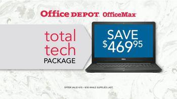 Office Depot OfficeMax TV Spot, 'Total Tech Package' - Thumbnail 5