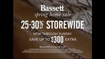 Bassett Spring Home Sale TV Spot, 'New Homeowners: 25 to 30 Percent Off' - Thumbnail 9