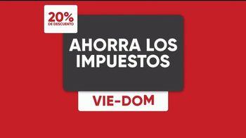 Mattress Firm Evento de Amigos & Familiares TV Spot, 'Impuestos' [Spanish] - Thumbnail 6