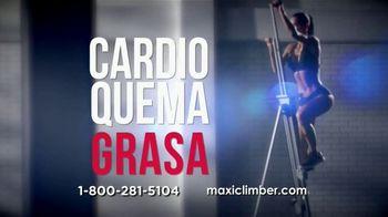 MaxiClimber TV Spot, 'Ejercicio en casa' [Spanish]