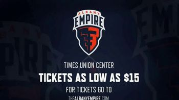Albany Empire TV Spot, 'Inaugural Season Tickets' - Thumbnail 10