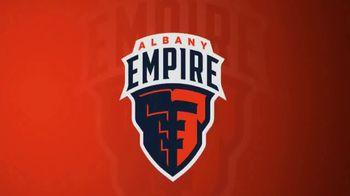 Albany Empire TV Spot, 'Inaugural Season Tickets' - 3 commercial airings