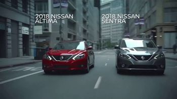 Nissan TV Spot, 'Faster Than You: 2018 Altima & Sentra'