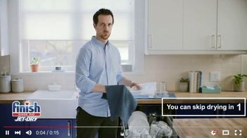 Finish Jet-Dry Rinse Aid TV Spot, 'Skip This' - Thumbnail 3